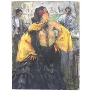 Yves Diey , Huile Sur Toile époque Art Deco, Signée Q6fry7ki-10042614-985145857