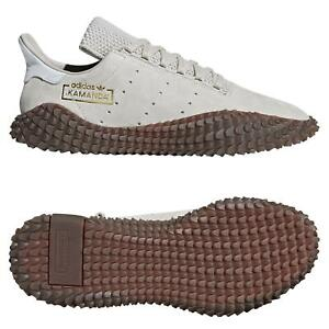 Adidas-Originals-Men-039-s-Kamanda-Chaussures-Marron-Grandes-tailles-RARE-Baskets-Baskets
