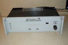 Mb Dynamics Model Ss250vcf Amplifier Model 7521 Bc2