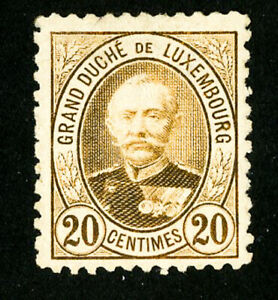 Luxembourg-Stamps-62a-VF-Unused-Scott-Value-160-00