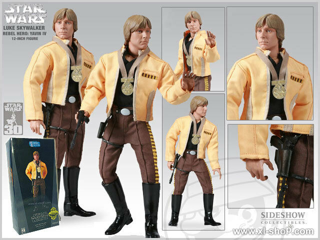 Sideshow Star Wars Luke Skywalker Rebel Hero  - Exclusive Edition 1 6 Figure