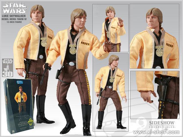Sideshow Estrella Wars Luke Skywalker Rebel héroe-edición exclusiva figura de 1 6
