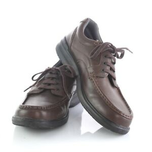 best up-to-datestyling lovely luster Details about Clarks Collection Brown Leather Soft Cushion Ortholite Casual  Oxfords Mens 10.5