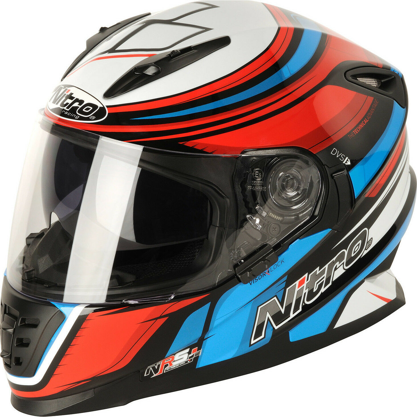 \NITRO NRS-01 TORQUE FULL FACE MOTORCYCLE HELMET SUN VISOR ACU GOLD ALL SIZES