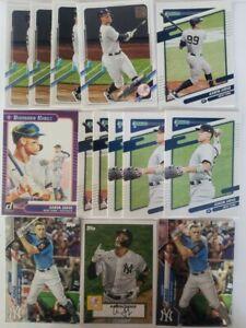 Aaron Judge baseball card lot (14x) 2021 topps series 1 donruss panini baseball