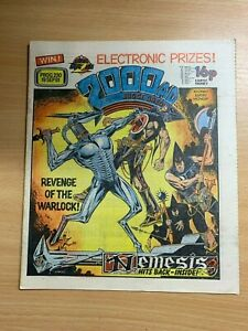 2000AD-PROG-230-19-SEPT-1981-UK-LARGE-PAPER-COMIC-JUDGE-DREDD-NEMESIS