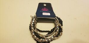 Paparazzi-Bracelet-new-METRO-MIX-UP-BLACK-0031