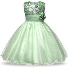 Kinder Kleid Partykleid Sommerkleid Tüllkleid für jedes Anlass  Gr.122/128 /c25/
