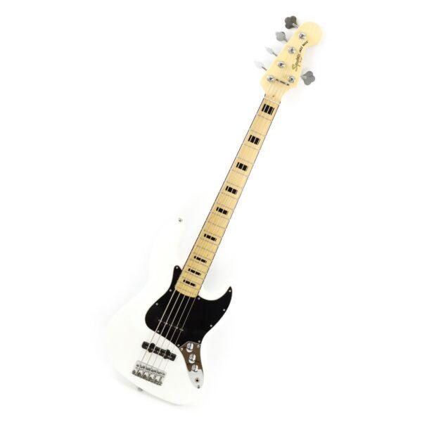 fender squier jazz bass v 70s vintage modified loaded body white 5 string ebay. Black Bedroom Furniture Sets. Home Design Ideas