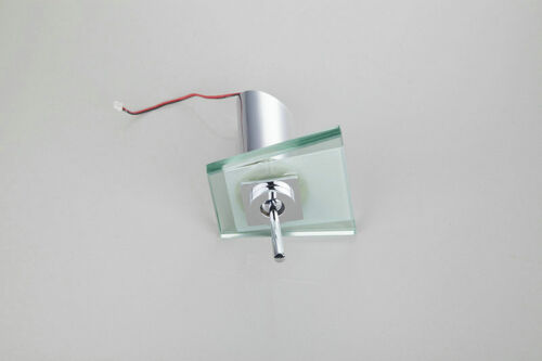 LED Chrome Waterfall Bathroom Basin Faucet Single Handle Vanity Sink Mixer Taps