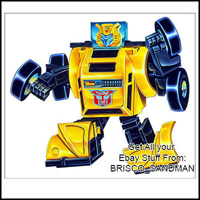 Retro Action Masters Transformers G1 Jazz 80/'s Fridge Magnet Art