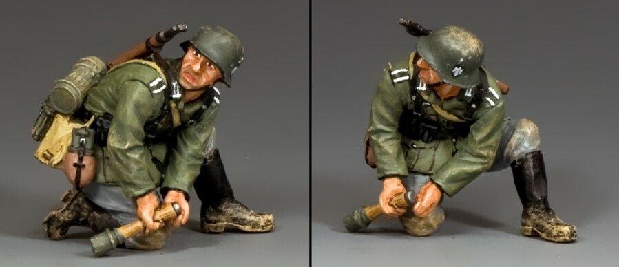 King & Land Ww2 Deutsche Armee Wh036 Kniend Grenadier MIB