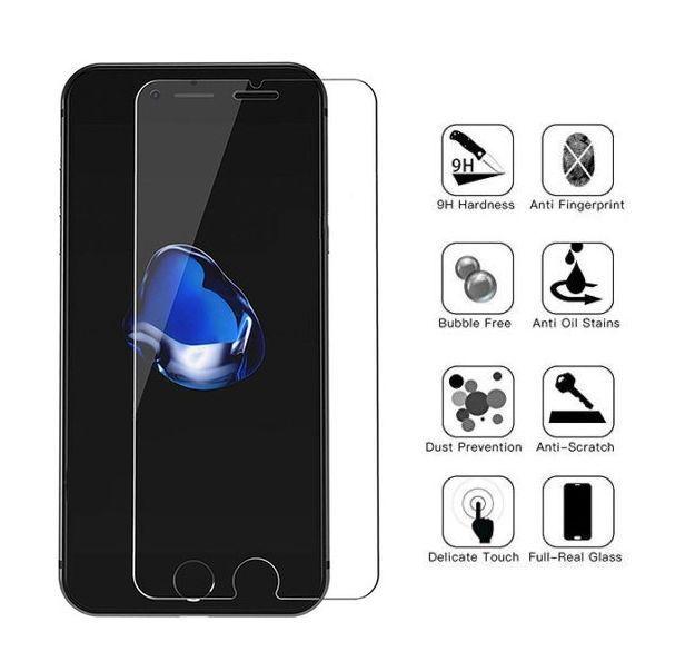 Apple iPhone 6 iPhone 6s  Schutzglas 9H Panzerglasfolie Panzerfolie Echt Glas