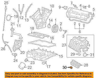 FORD OEM-Engine Intake Manifold Gaskets 3F1Z9439AA SET OF 6