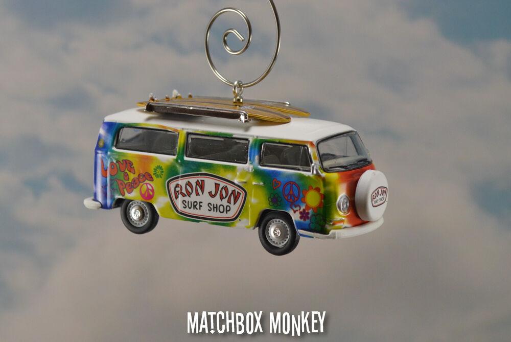 '69 Volkswagen Hippie Van Bus Ornement VW Kombi Ron Jon Surf Shop Paix Bulli
