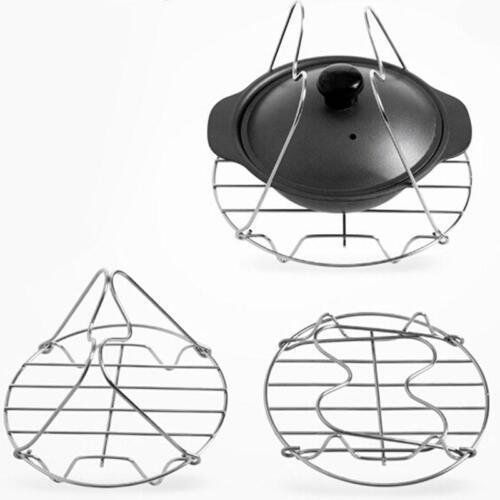 Home Kitchen Stackable Egg Cooker Steamer Rack Stainless Steel shan