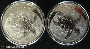 New-Zealand-Mint-2011-1-oz-Silver-Fiji-Taku-Coins-999-Bullion-Silver