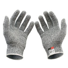 2 Pairs Anti Cut Gloves Safety Cut Proof Stab Resistant Kitchen Butcher Durable