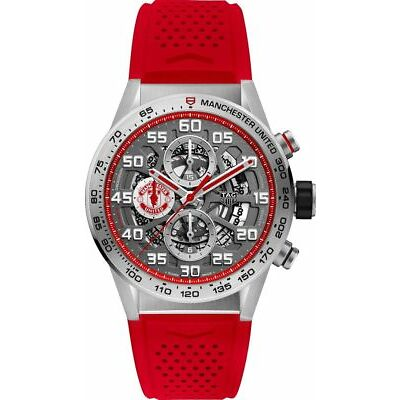 Tag Heuer Carrera Manchester United Special Edition Men's Watch CAR201M.FT6156