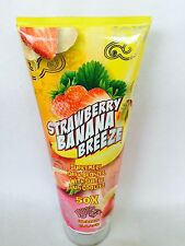 Fiesta Sun Strawberry Banana Breeze 50X Dark Bronzer Indoor Tanning Lotion 8 oz
