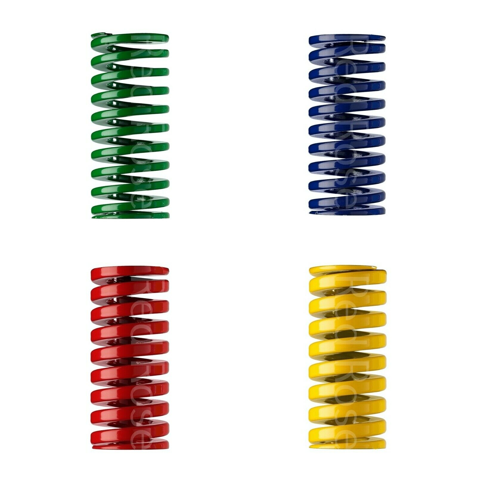 Heavy Load Duty Compression Die Spring ISO - 10-50mm Diameter & Up To 102mm Long