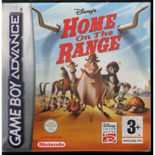 Home on the Range the cows to the rescue Game Boy Advance GBA New