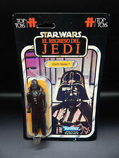 vintage TOP TOYS Star Wars DARTH VADER figure w/ backing card foreign Argentina
