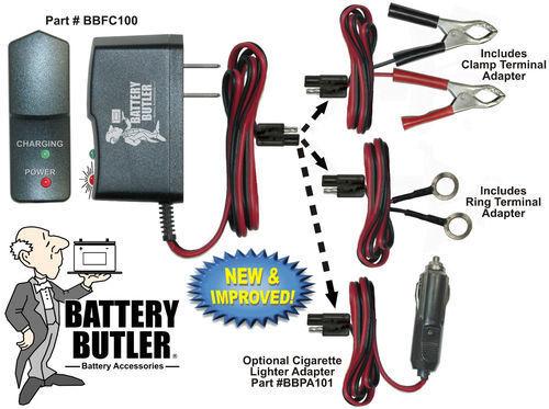 BATTERY BUTLER CHEVROLET CHEVY 12V Battery MAINTENANCE TENDER Storage Charger