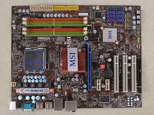 MSI P45 Neo3-FR Intel Linux