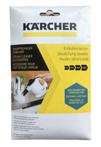 6x17g Kärcher Entkalkerpulver für Dampfreiniger Kaffeemaschine Wasserkocher