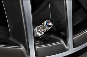 Valve-Caps-Genuine-BMW-M-Set-of-4-36122447402