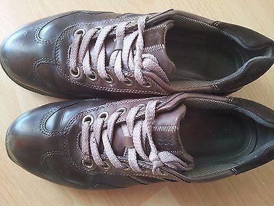 Ecco Echt Leder Schuhe Gr 38