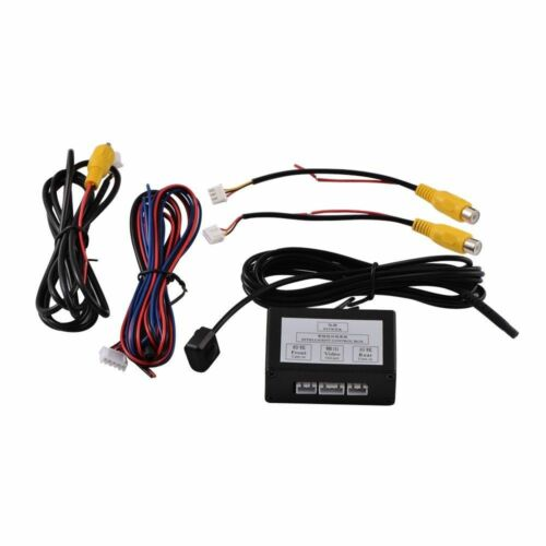 Smart Control Two Channel Car Front Rear Camera Video Switch Connect Converter