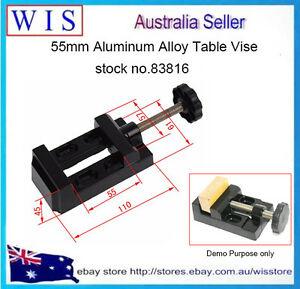 Miniature Bench Table Vise Hobby Small Jewelers Mountable Vice Clamp Tool-83816