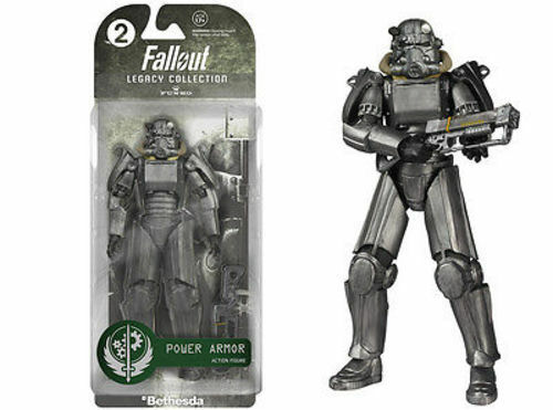 Funko Pop Legacy Fallout Power Armor Bethesda Blister Pack Action Figure #2