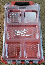 Milwaukee Packout Small Parts Organizer Tool Storage Empty Packout