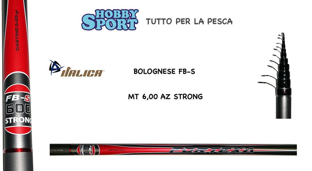 CANNA BOLOGNESE FORTEXA ITALICA mod FBS   MT 6,00 AZ STRONG