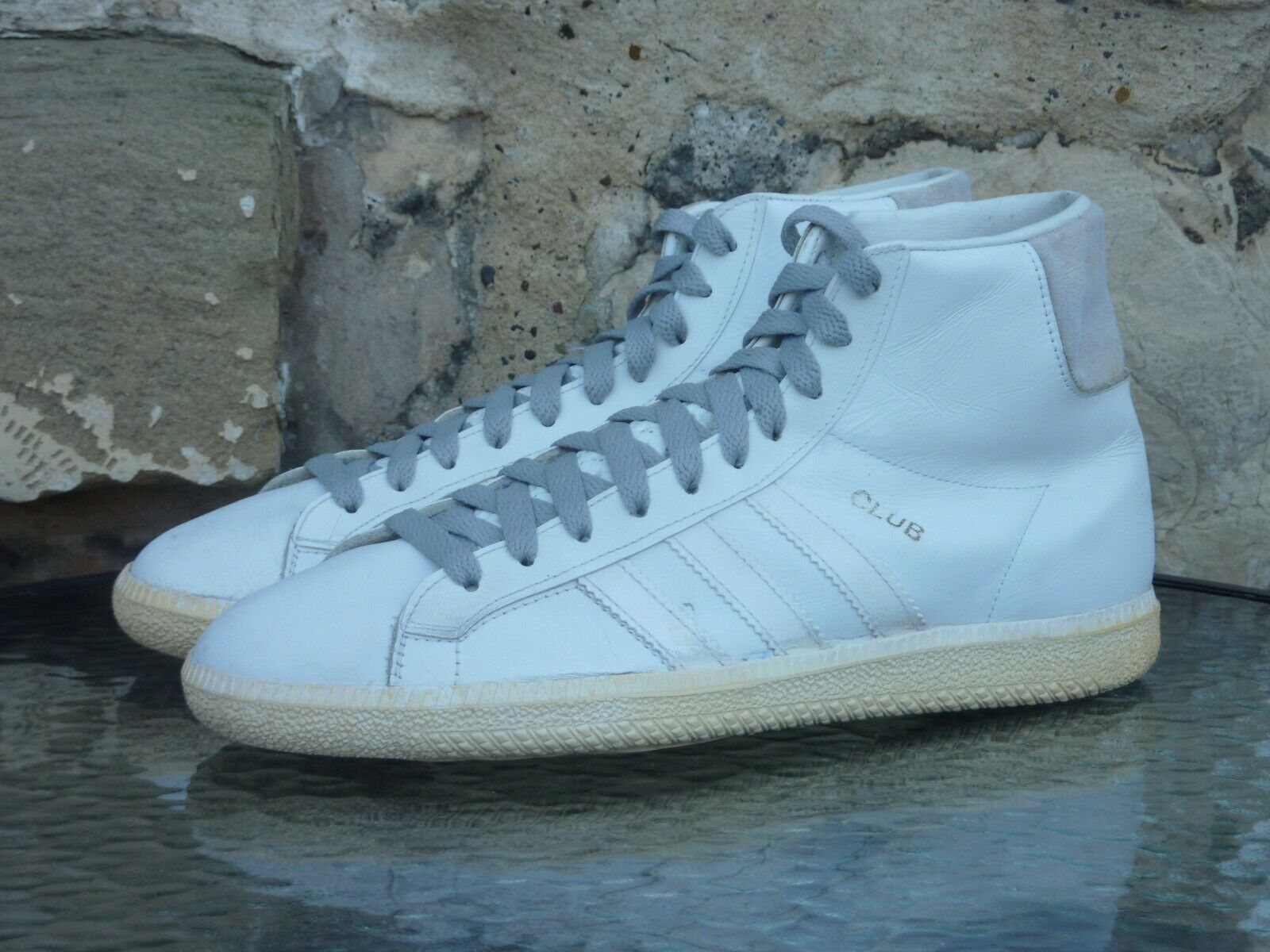 Vintage Adidas Club UK 7.5 Made In West Germany 1980s OG stan smith superstar