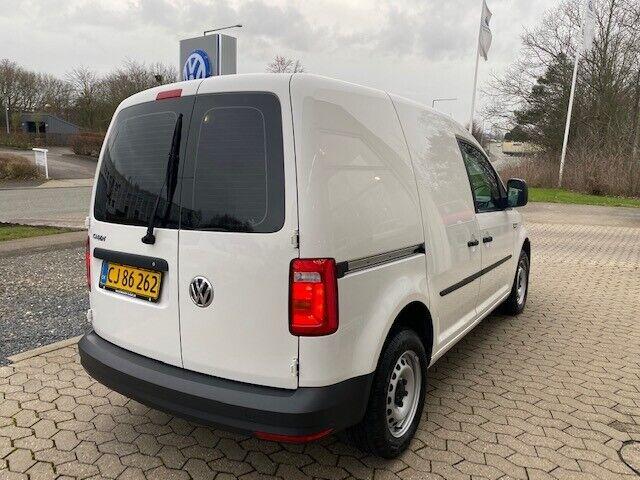 VW Caddy 2,0 TDi 102 BMT Van Diesel modelår 2019 Hvid km 10000