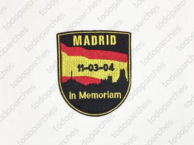 Parche bordado MADRID IN MEMORIAM