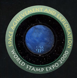 SCOTT 3412 2000 $11.75 SPACE ACHIEVEMENT & EXPLORATION ISSUE MNH OG VF CAT $40!