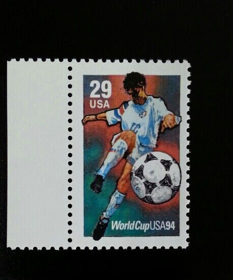 1994 29c World Cup Soccer Championships Scott 2834 Mint