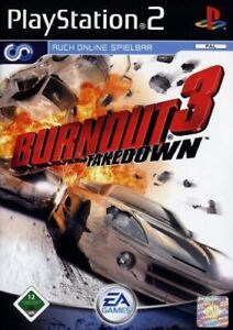 Ps2-Sony-PlayStation-2-juego-Burnout-3-takedown-con-embalaje-original