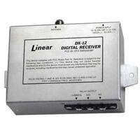 Linear Dx-12 12/24v 1-channel Metal Housing Case Receiver, Aluminum