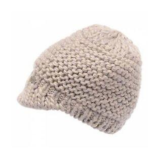0cba08b1465d61 Details about Regatta Espen Womens Chunky Knit Fleece Lined Winter Hat