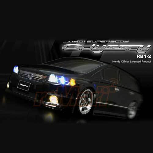ABC Hobby Honda Odyssey RB 190mm Body 4wd RC Cars for sale