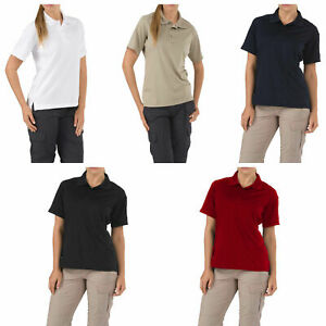 5-11-Tactical-Women-039-s-Performance-Short-Sleeve-Polo-Shirt-Style-61165-XS-2XL