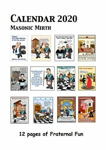 2020-Calendar-FOR-Freemasons-with-Masonic-Mirth