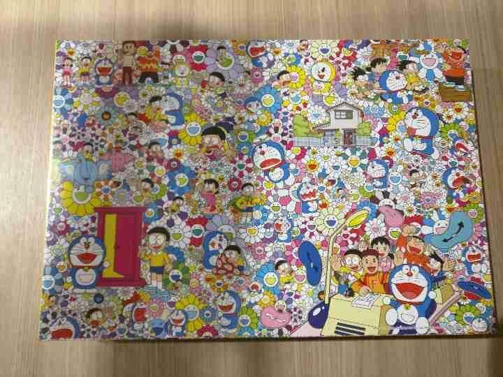 Nouveau Takashi Murakami Jigsaw Puzzle Kaikai Kiki la Doraemon exhibitiontokyo 2017
