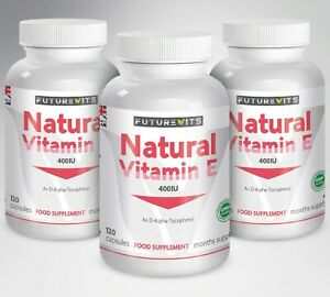 Vitamine-E-3-x-120-Capsules-pour-Cheveux-Visage-Peau-Brillant-Max-Huile-Fort